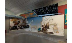 Дизайн–проект экспозиции Музея природы и человека (Ханты-Мансийский АО — Югра,Сургутский р-н, дер. Русскинская)