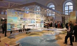 Выставочный стенд Комитета по градостроительству и архитектуре Санкт-Петербурга