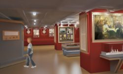 Дизайн-проект экспозиции музея крейсера «Аврора»